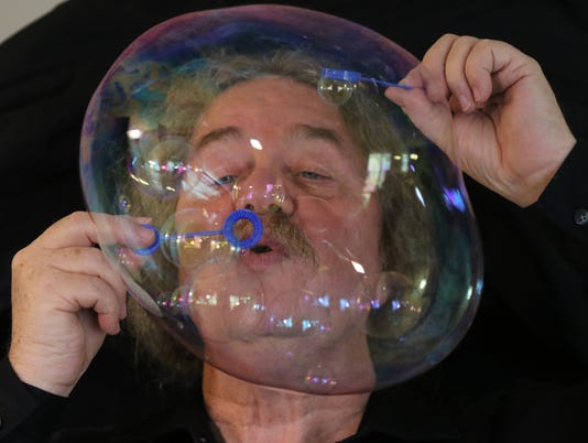 Tom McAllister is also known as The Bubble Man, famopus for his use of the soapy mixture to create bubbles to entertain. The Paterson native has been on The Tonight Show with Johnny Carson and David Letterman and entertained at many venues throughout his career.