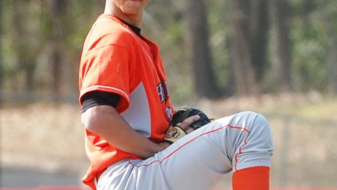 Brian Marconi tossed a one-hitter with seven strikeouts as Cherokee defeated Eastern 3-0. He retired the final 14 batters he faced in order.