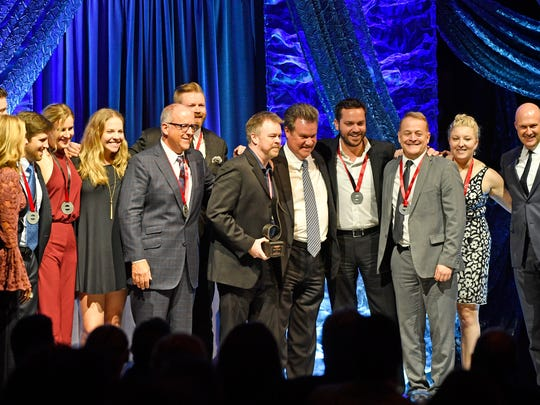 Warner Chappell Music was honored as Publisher of the Year at the 2017 SESAC Music Awards