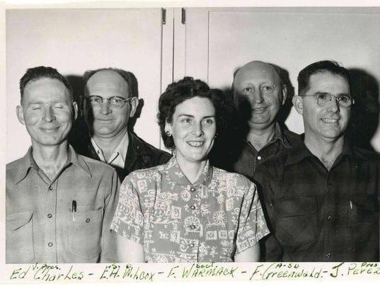Members of the Shasta County Farm Bureau