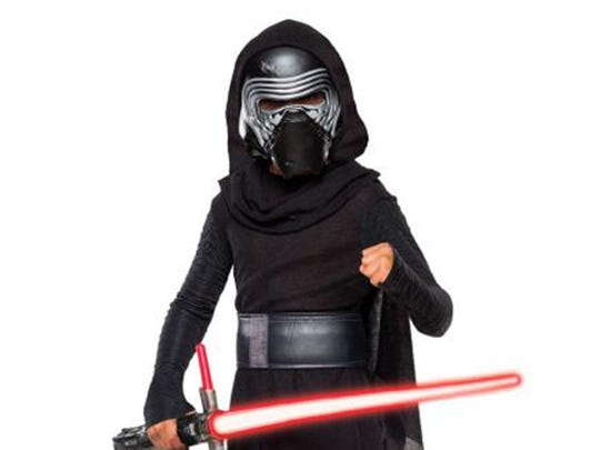 """Kylo Ren from """"Star Wars VII: The Force Awakens"""" is a hot seller in advance of the film's opening in December."""