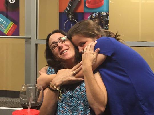 Olivia Baumgardner, 8, has battled cancer.