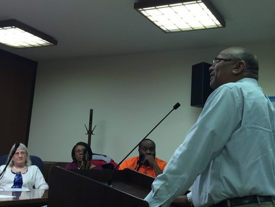 Dr. Ronnie Holden of the Accomack County School Board