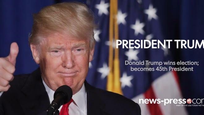 President-elect Donald Trump wins election
