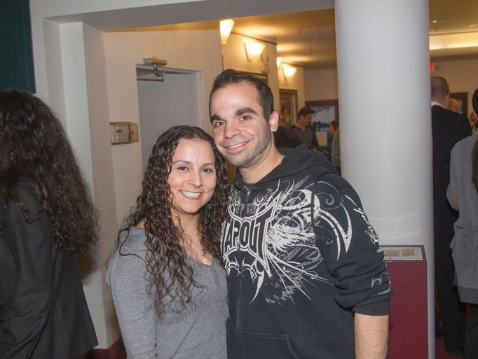 Christina and Scott Graziano. Artie Lange performs