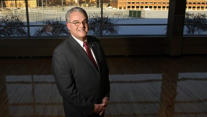Former UW-Oshkosh Chancellor Richard Wells.