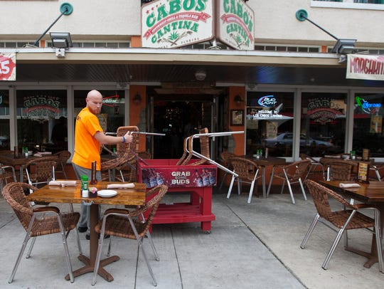 Los Cabos Cantina is closed through Friday for remodeling,