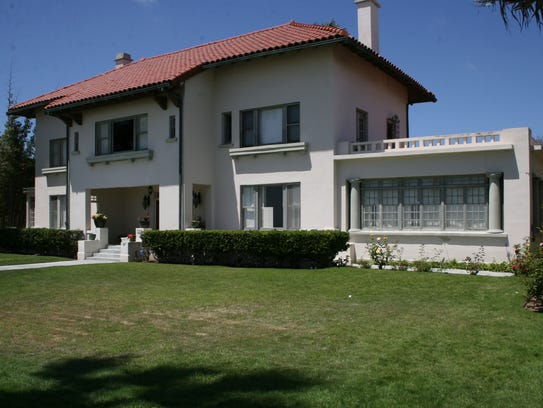 File photos of the Spreckels Mansion, former Coronado