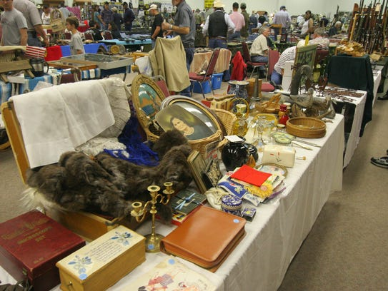 Plenty of shopping options are offered at the annual show.