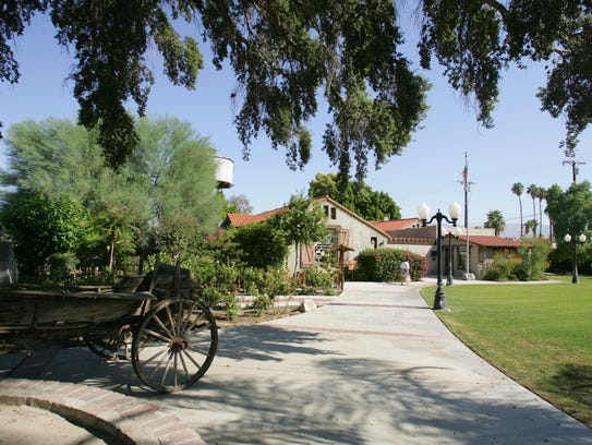 The Coachella Valley History Museum in Old Town Indio.
