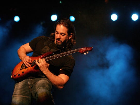 John Petrucci of Dream Theater, pictured in 2006 performing