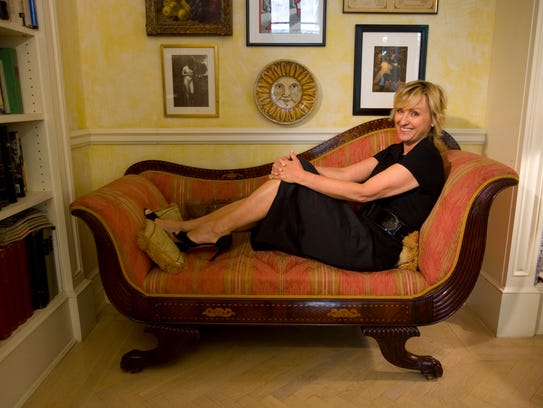 Tina Brown at home in New York in 2007. At the time,
