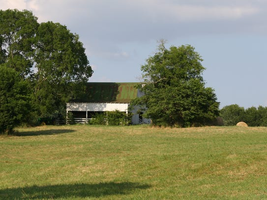 The Batey Farm property is pictured here.