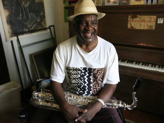 Detroit tenor saxophonist Wendell Harrison in 2011.