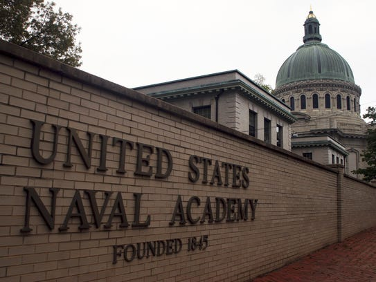 The U.S. Naval Academy had an increase in reports of sexual assaults last year.
