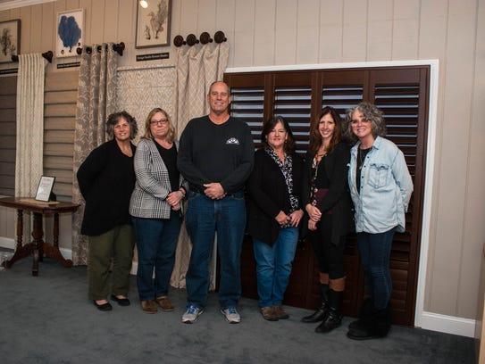 Belmar Window Shop owners and associates. Their shop