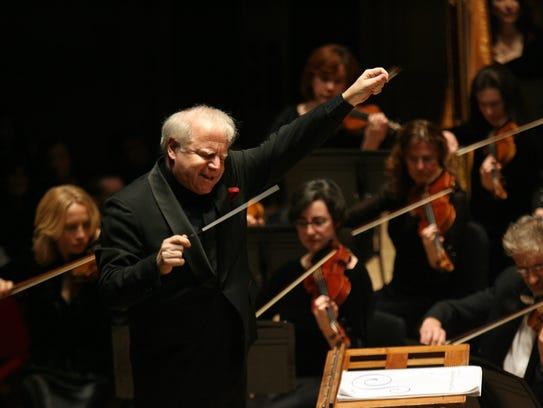Leonard Slatkin, Detroit Symphony Orchestra Music Director