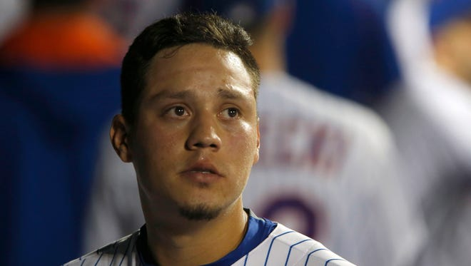 Wilmer Flores was emotional when he thought he was traded to the Brewers.