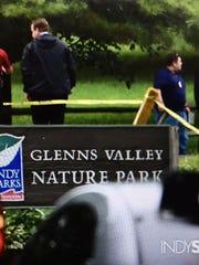 Johnson County sheriff's deputies shot a man in Glenns