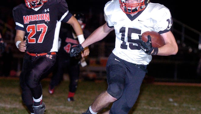 On Friday, October 16 Marion Harding and Pleasant High School battled it out on the football field.