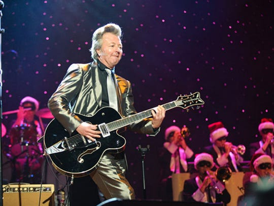 Brian Setzer will be bringing his Christmas show to the Bergen Performing Arts Center in Englewood on Nov. 18.