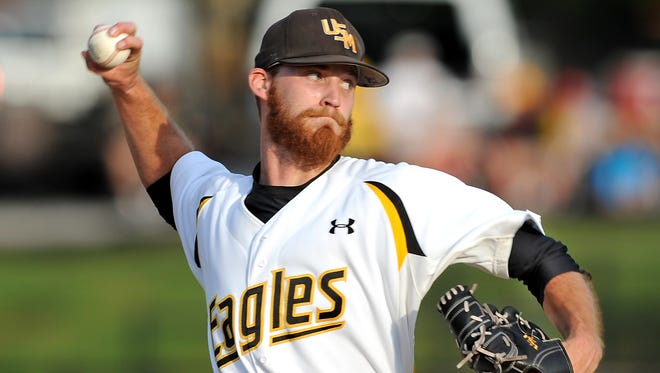 Southern Miss pitcher Cody Carroll struck out 10 in Friday's win over UAB at Pete Taylor Park.