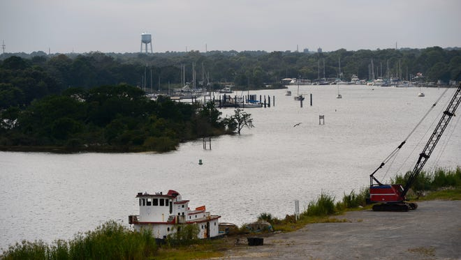 Bayou Chico as it appears today.