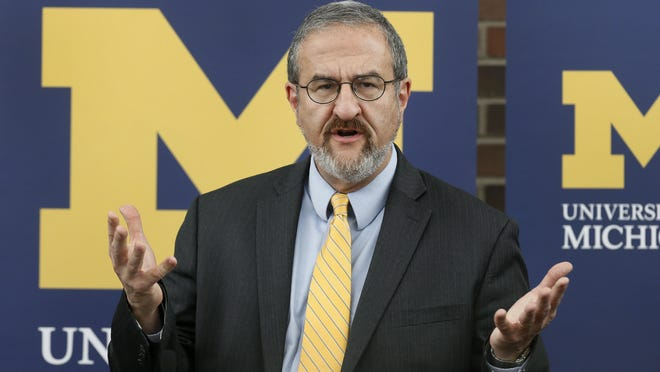 For the first time, the University of Michigan's faculty passed a vote of no confidence in the school's president Mark Schlissel, even if the final tally came after a dispute over vote counting.