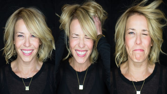 A montage of the many faces of Chelsea Handler.  Photos by Todd Plitt, USA TODAY