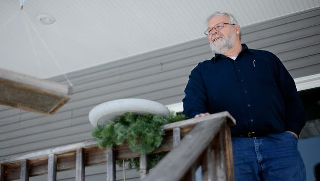 Randy Winkler, a former Green Bay, Wis., police detective who worked on the Thomas Monfils homicide case in the early 1990s, is pictured at his home in Gillett, Wis. Winkler remains convinced of the guilt of the six men convicted in Monfils' death.