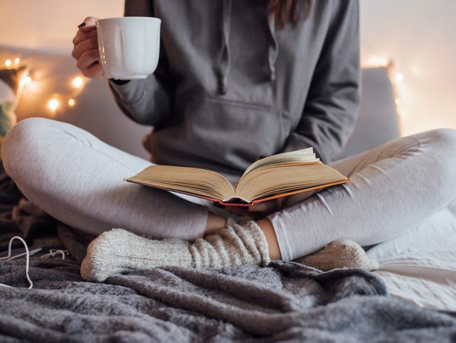 Curl up with a good book and a hot drink. Win a Barnes & Noble and Starbucks gift card. Enter 1/23-2/18