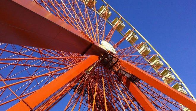 Ferris Wheel at Kentucky Kingdom.