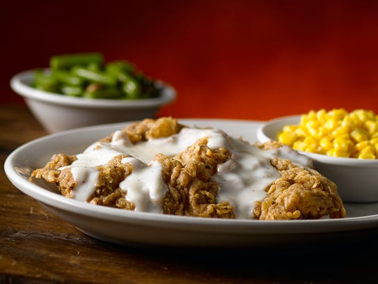 Country-fried chicken at Texas Roadhouse.