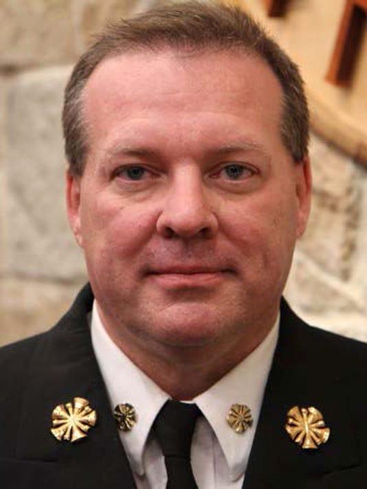Fire Chief Brian Dunn