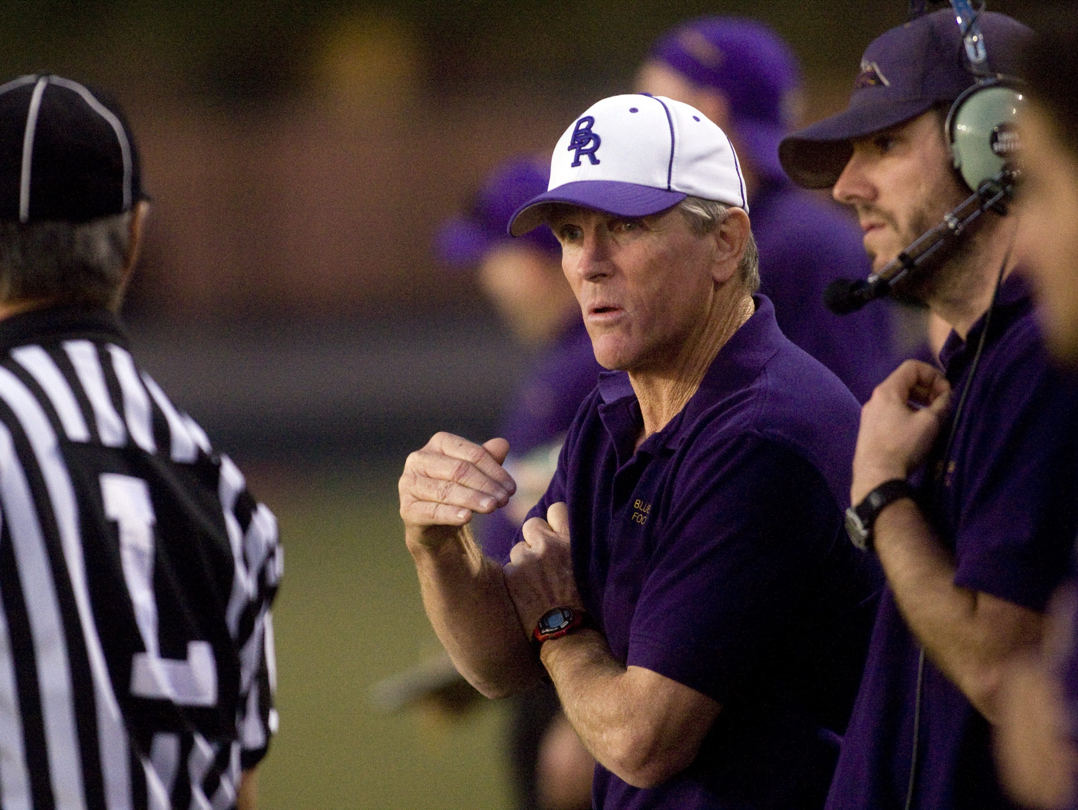 Moro won 318 games and 13 state championships during his 30-year career at Blue Ridge, before leading Poston Butte to a 7-4 record and a Division II state playoff berth in his first season last year.