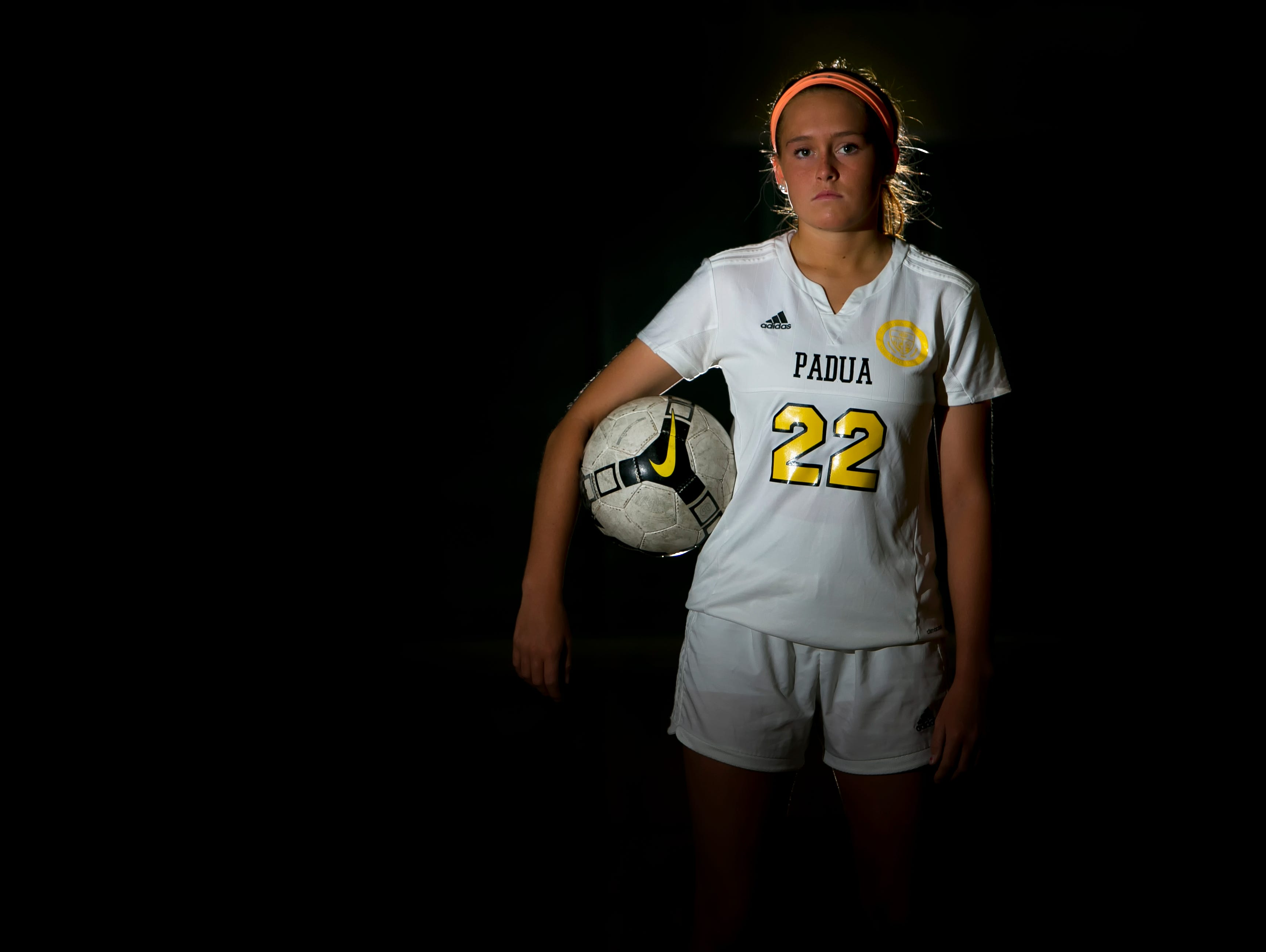 Padua Academy soccer player, Mackenzie Scully, is the Athlete of the Week.