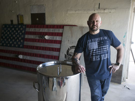 Christopher Lucidi, founder and distiller of the Lucidi