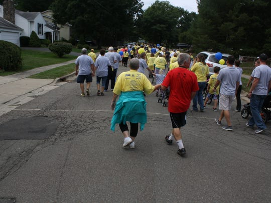 The 2016 Buddy Walk kicked off in Highland Park on Saturday.