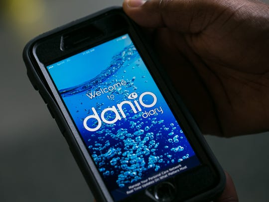 The Danio Diary mobile app, aims to help loved ones