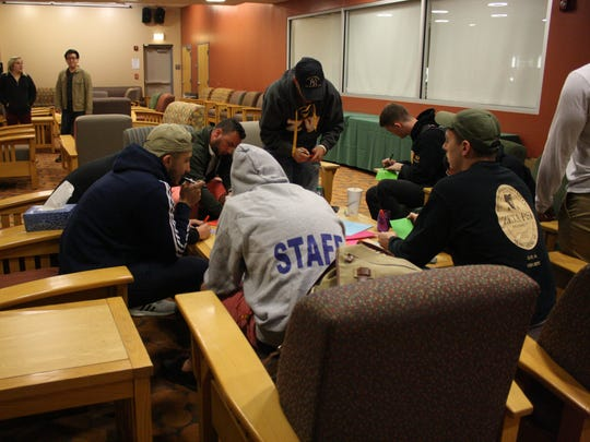 Binghamton University students wrote their memories