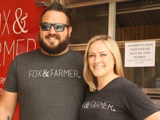 James Fox and Raenee Fox, of Binghamton, founded Fox