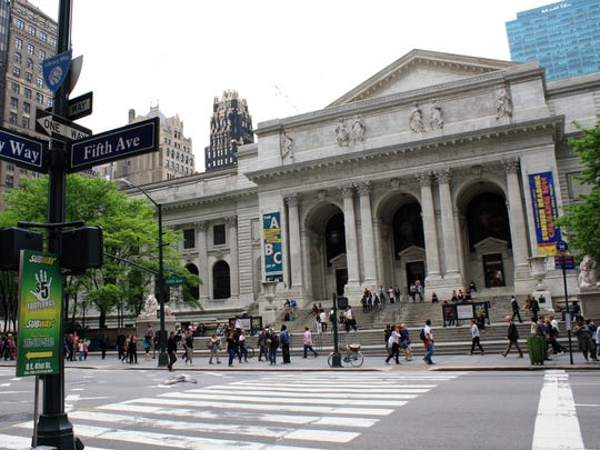 The New York Public Library has hundreds of thousands of free images and works of art that can be downloaded at the library or at home.