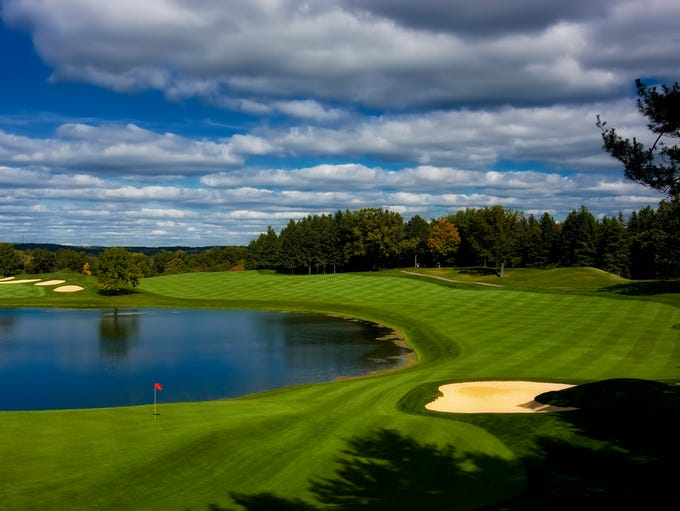Looking at the top 10 public golf courses in metro
