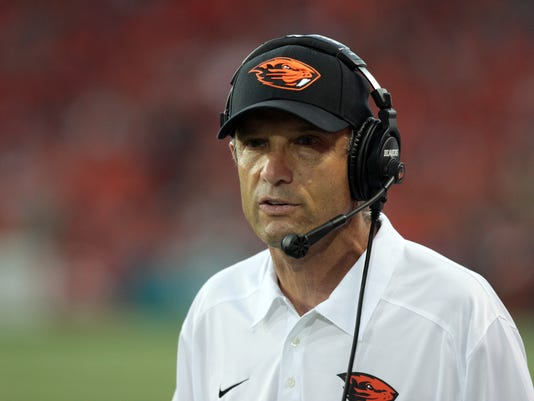 NCAA Football: Hawaii at Oregon State