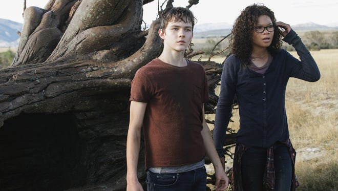 "Storm Reid and Levi Miller in Disney's ""A Wrinkle in Time."""