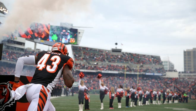 Safety George Iloka is one of the Bengals' free agents.