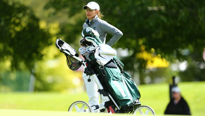 Stacy Slobodnik-Stoll has led MSU's women's golf team to the NCAA Regionals for the 17th time in the last 18 seasons. The Spartans open play Thursday in Stanford, California.