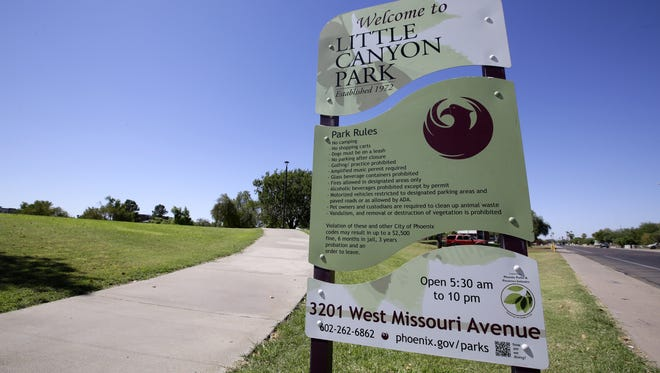 Phoenix is considering trading Little Canyon Trail and Park for a new location paid for by Grand Canyon University.