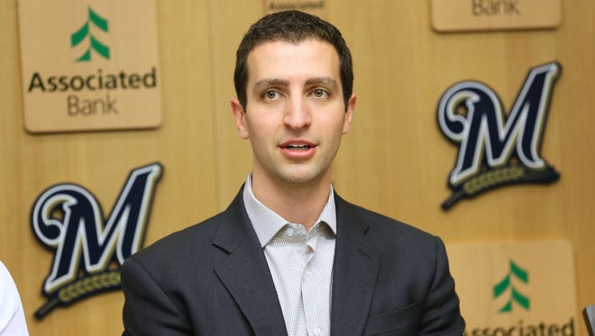 Brewers GM David Stearns understands there is some disappointment over not acquiring a big-name pitcher but expressed confidence in his staff.