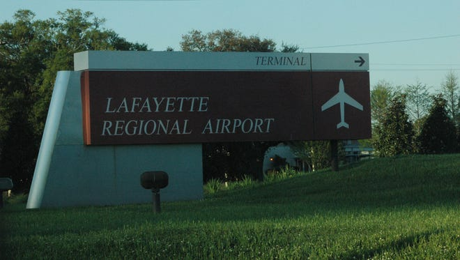 The airport commission at Lafayette Regional Airport wants voters to approve a 1-cent sales tax for eight months to pay for improvements.